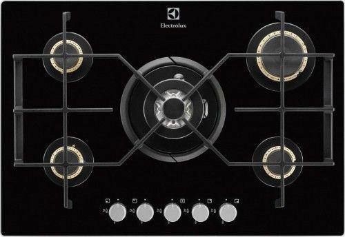 Plyta Gazowa Electrolux Egt 7355nok 5 Pol Grzejnych Kolor Czarny Electrolux Kitchen Accessories Kitchen