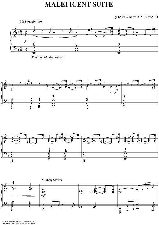 maleficent suite | clarinet sheet music, printable sheet music, sheet music  pinterest
