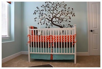 Love these colors for a baby boy