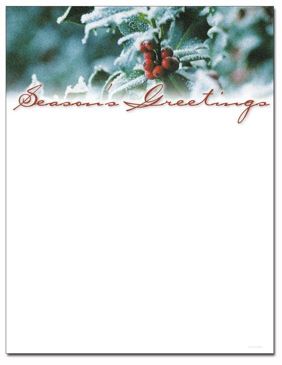 Letterhead, Berries and Christmas holidays on Pinterest