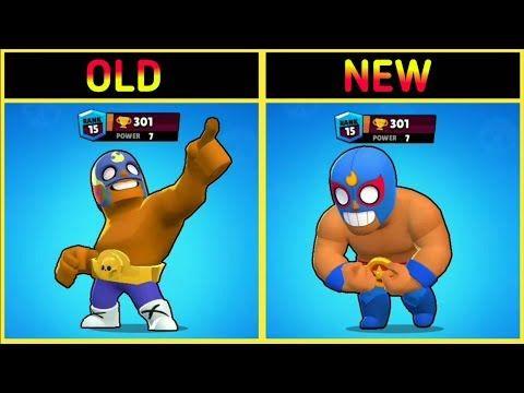 Old Vs New Brawlers Brawl Stars Youtube Brawl Cartoon Art Styles Profile Wallpaper