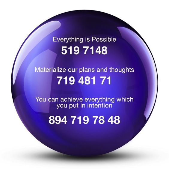 I've had much success with 894 719 78 48.  The technique is to mentally visualize the numbers in a sphere / cone / ball while at the same time focusing on a specific concise intention.  Grabovoi has daily lessons to help learn the technique.  Some people have great success using the numbers without applying the recommended methods.  Believing is the most important requirement.: