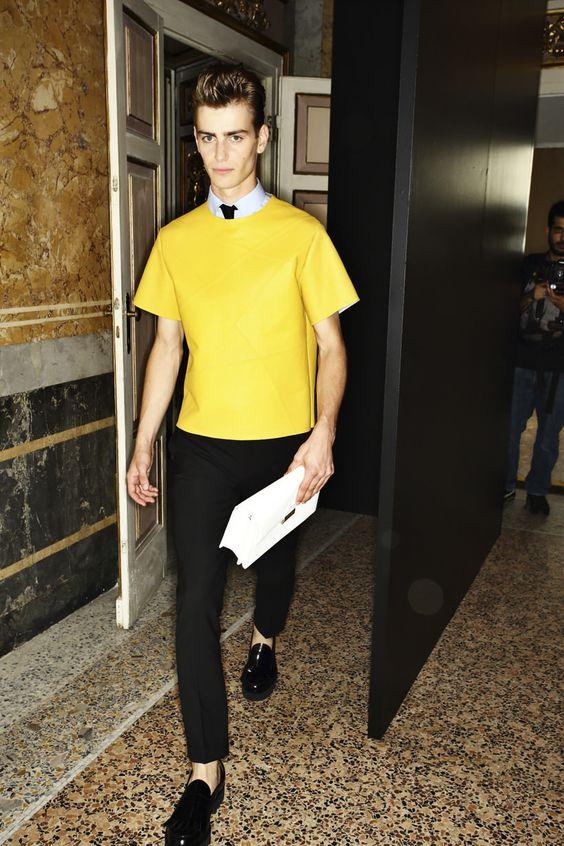 Les Hommes Spring/Summer 2015 | Milan Fashion Week