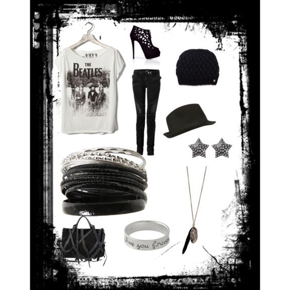 a lil bit of music, created by emacias84 on Polyvore