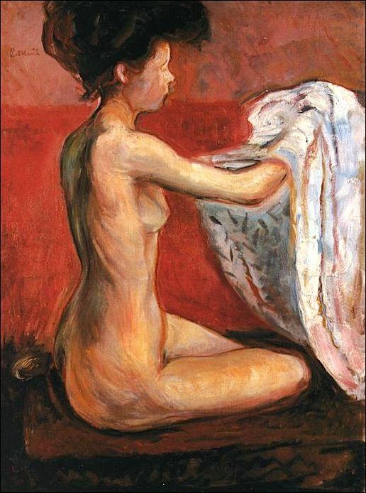 Paris Nude - Edvard Munch.