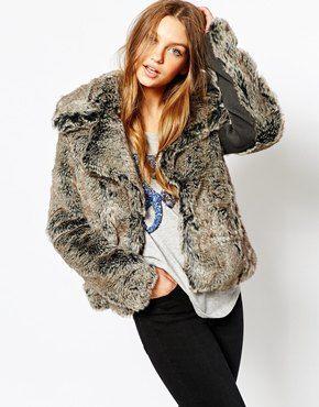 Superdry Snow Queen Faux Fur Coat | Fur Fur Fur | Pinterest