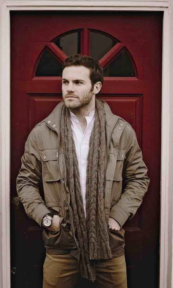 You don't have to be eccentric to be well dressed. Juan Mata