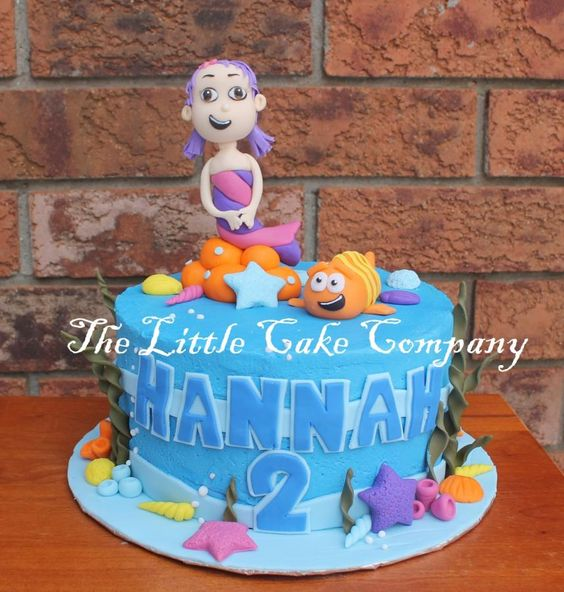 bubble guppies cake - Cake by The Little Cake Company