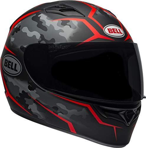 Bell Qualifier Full Face Motorcycle Helmet Stealth Camo Matte Black Red X Large For Price And Product Info Go To Https Caraccessoriesonlinemarket Com Be In 2020