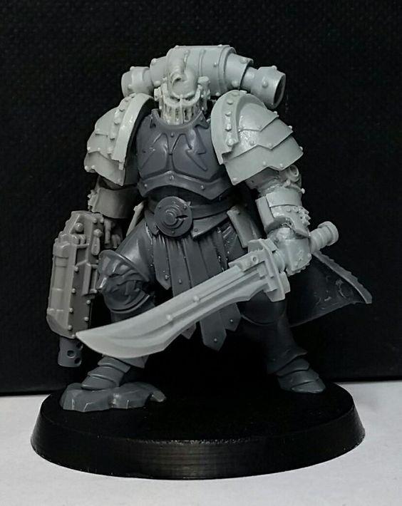 Thunder Warrior Commander With Images Warhammer Warhammer