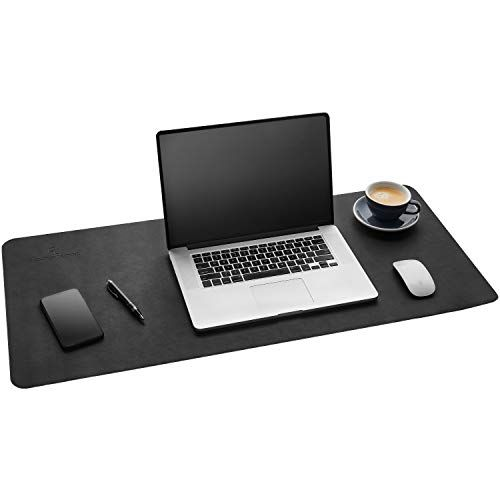 Home Office Decor For Women Gallaway Leather Desk Pad 36 X 17 Inch Desk Mat Accessories For Women Men Desk Protect In 2020 Leather Desk Pad Leather Desk Desk Pad