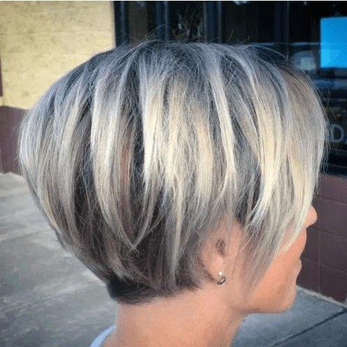 Pin By Oksana Bazeluk On Korotki Zachiski In 2020 Bob Hairstyles For Fine Hair Haircuts For Fine Hair Short Hair Styles