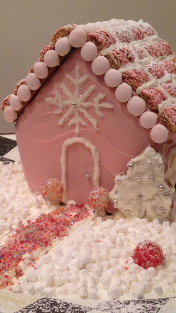 My gingerbread house!