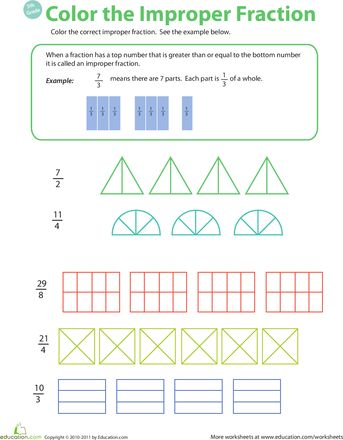 math worksheet : fractions and worksheets on pinterest : Introduction To Fractions Worksheets