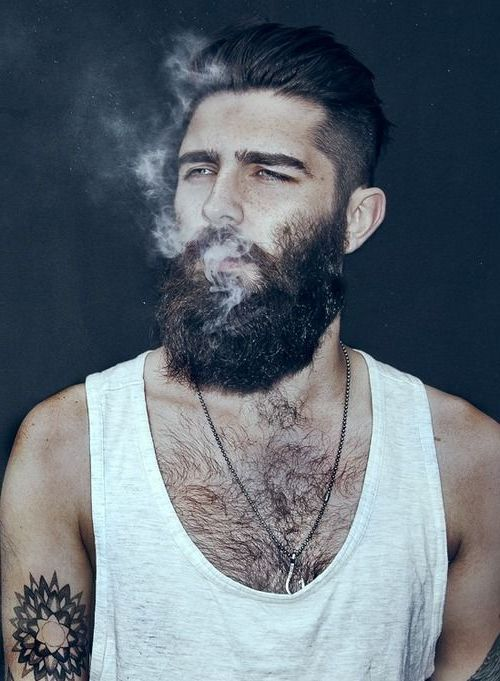 New Cool Mens Hairstyles With Beards