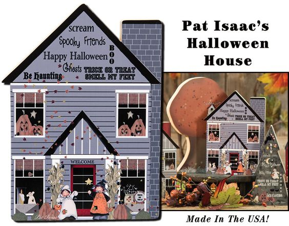 KP Creek Gifts - Halloween Chunky House
