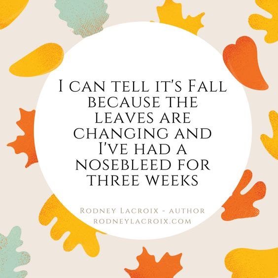 fall   seasons   humor   funny   meme   author   tweets from @moooooog35   Rodney Lacroix   My books: amzn.to/2crgRZz   My website: rodneylacroix.com