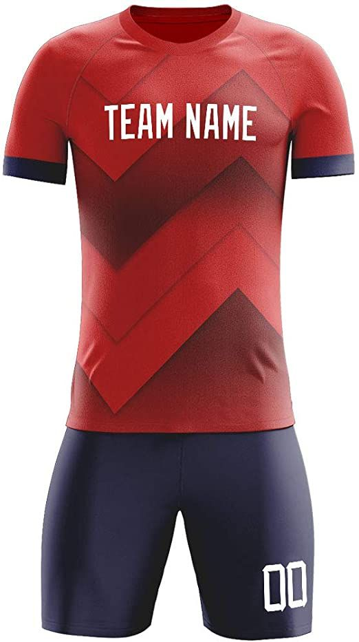 Button Closure Line Dry Material Made Of 100 Polyester High Quality And Durable Smooth Fabric For Comfort A In 2020 Custom Soccer Personalized Uniforms Soccer Jersey