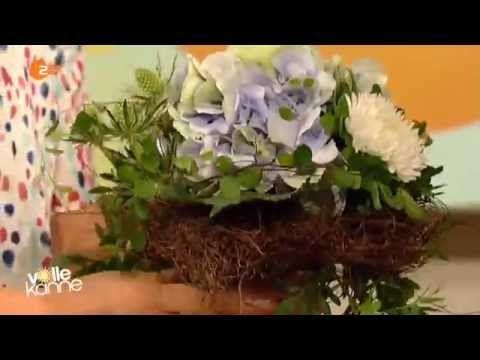 Blütenpracht für die Vase mit Hortensien - Volle Kanne   ZDF - YouTube