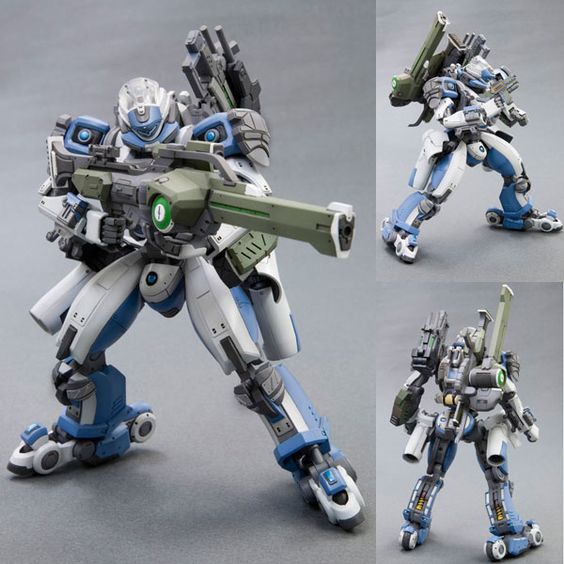 Border Break Zebra 41 Plastic Model Kit