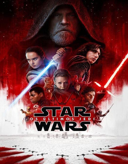 Star Wars Os Ultimos Jedi Dublado 2018 Poster De Star Wars Star Wars Site De Filmes
