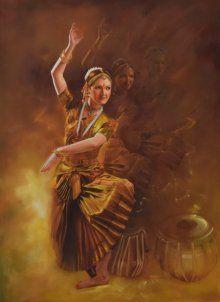 Grace painting by Kamal Rao | ArtZolo.com