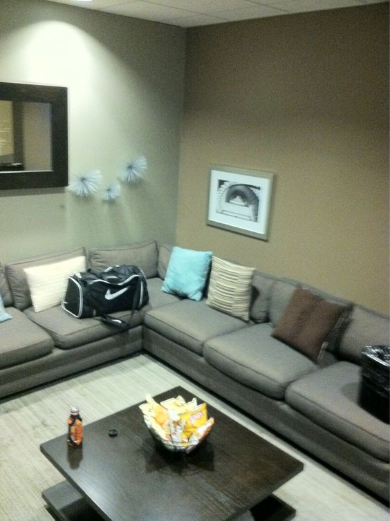 Waiting room back stage at the Ellen show....