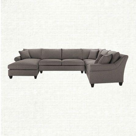 Arhaus rockway 4 piece sectional condo furniture for Sectional sofas arhaus
