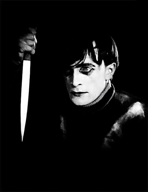 dessinnoir: Conrad Veidt in The Cabinet of Dr. Caligari (1920)