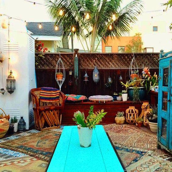 37 Beautiful Bohemian Patio Designs: Patio, Boho And Inspiration On Pinterest
