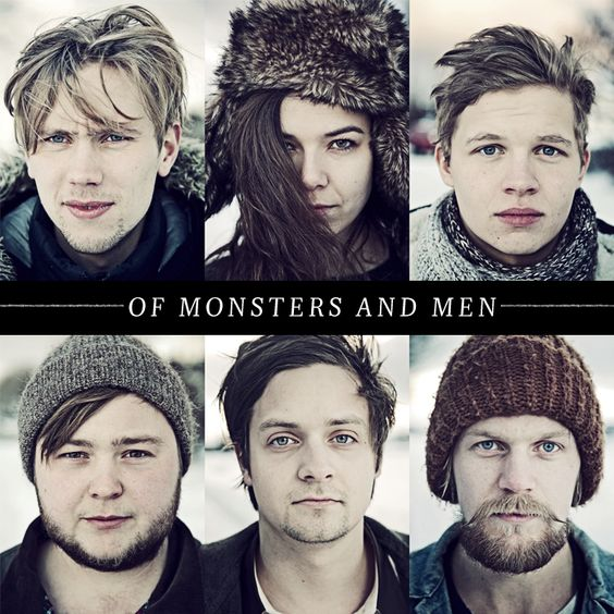 Of Monsters and Men. love. love. love. (hahhaa this looks like a christmas card. but i still love it :):