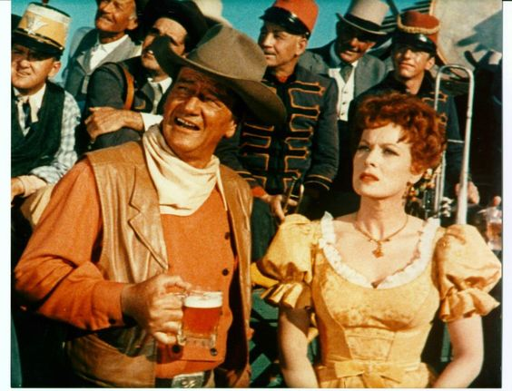 McLintock. He tamed the West... but could he tame her?