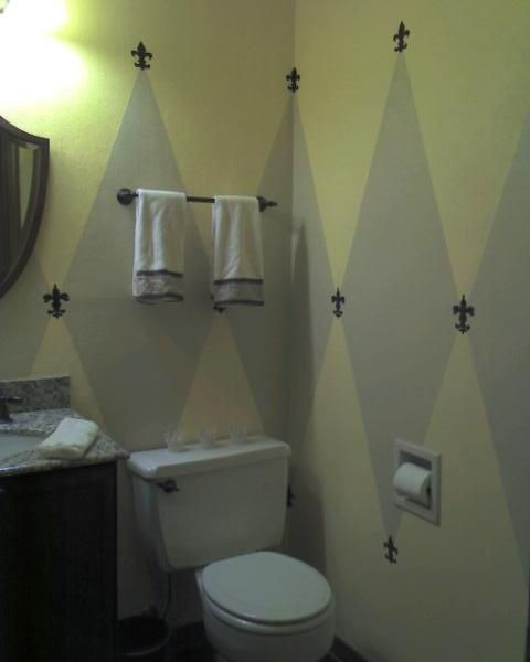 Half bathroom decorating ideas new orleans style half for Bathroom new orleans