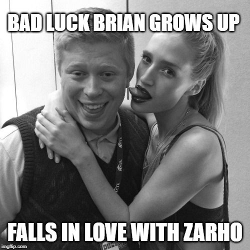 Bad Luck Brian with girl