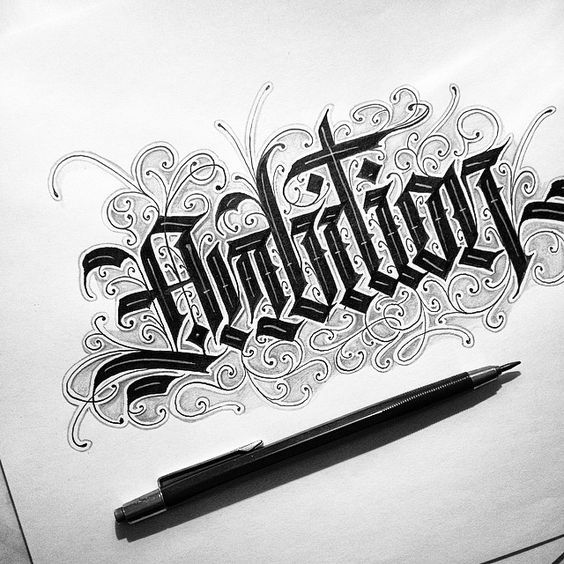 Lettering & Calligraphy Designs by Daniel Letterman ...