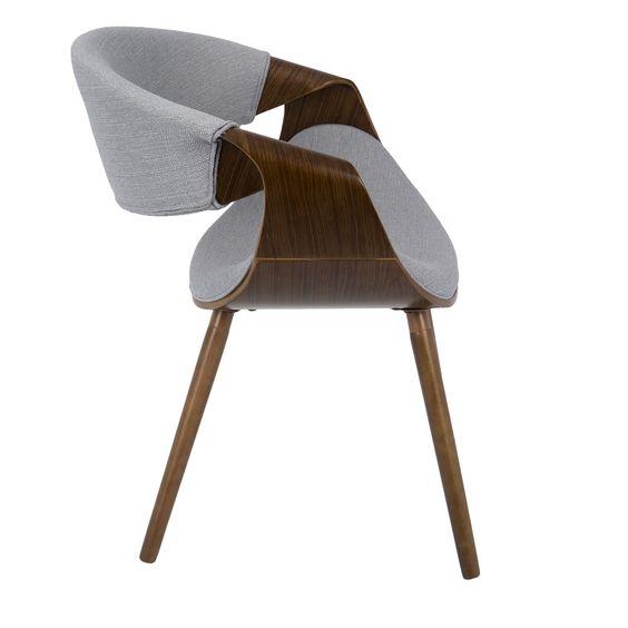 LumiSource CH-CURVO-WL Curvo Dining Chair
