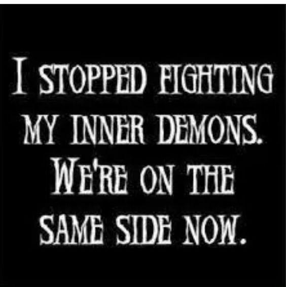#InnerDemons
