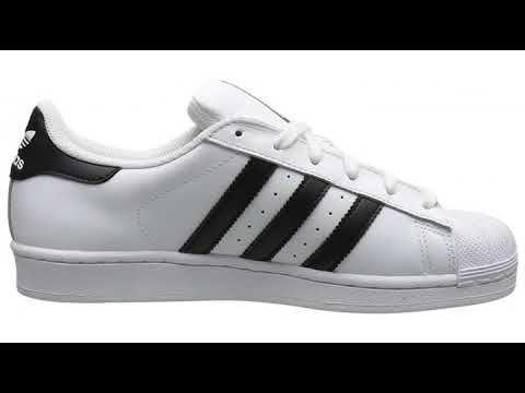 1fe0e11e19e0 Must See Review! adidas Originals Women s Superstar Shoes White Black White  (7.5