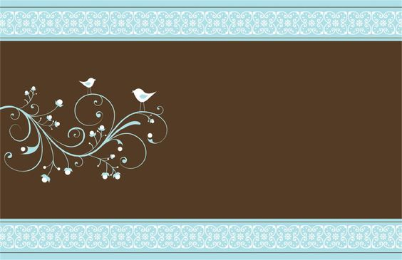 Horizontal Folded Wedding Invitations - Enter your Text