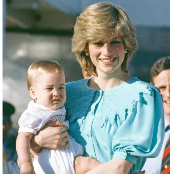 Princess Diana With Baby Prince William Princess Diana Family Princess Diana Wedding Princes Diana