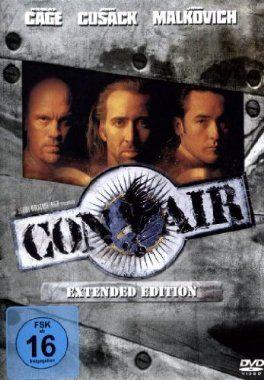 Con Air  1997 USA      Jetzt bei Amazon Kaufen Jetzt als Blu-ray oder DVD bei Amazon.de bestellen  IMDB Rating 6,7 (139.704)  Darsteller: Colm Meaney, Mykelti Williamson, Nick Chinlund, John Malkovich, Steve Buscemi,  Genre: Action, Crime, Thriller,  FSK: 18
