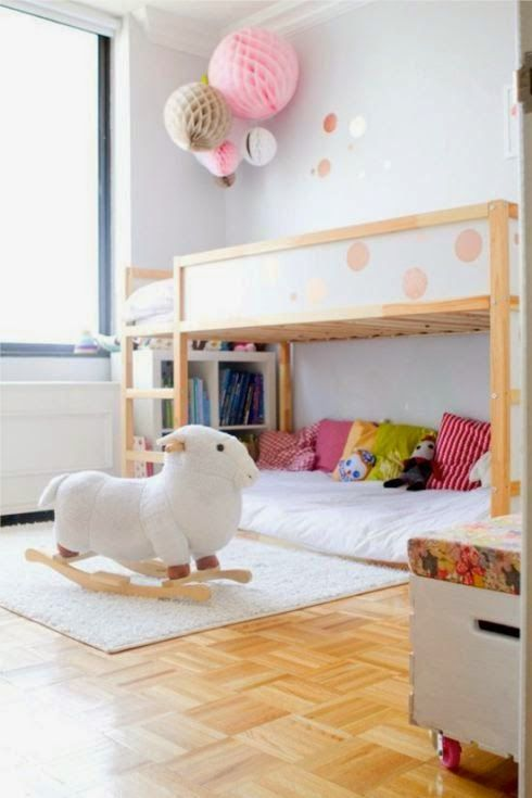 Kura bed ikea and chambres d 39 enfants on pinterest - Ikea chambre d enfants ...