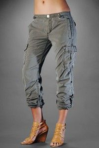 cargo capris with heels | My Fashion | Pinterest | Pants, Cargo ...