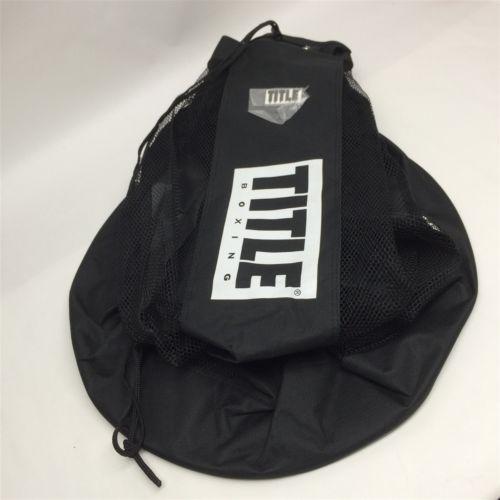Auth Nylon Mesh Black Never Used Le Boxing Bag B17000187