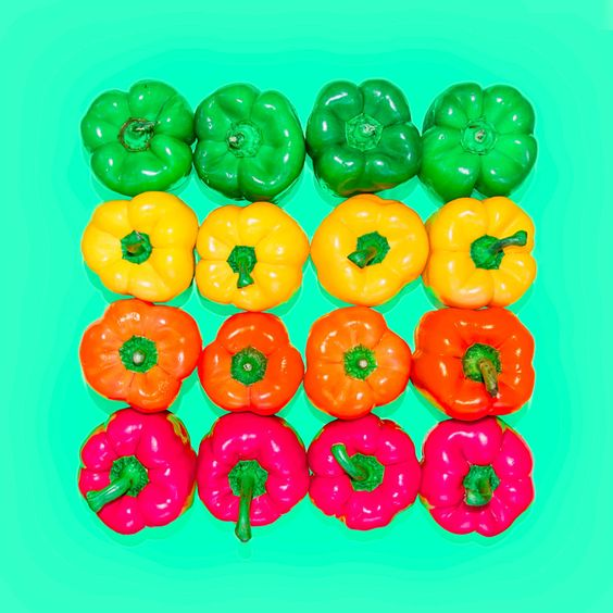 bell peppers - #candyminimal by matt crump