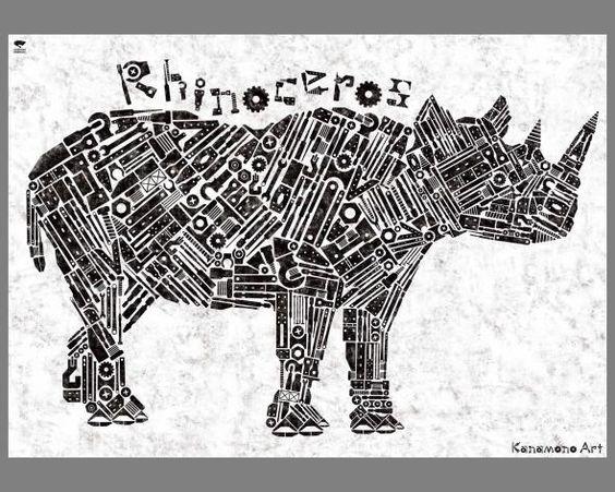 Seibundo Shinkosha: Rhinoceros