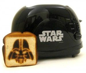 For the Hard-Core Geek in Your Life, The Star Wars Toaster