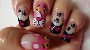 Resultado de imagem para unhas decoradas cinza e rosa