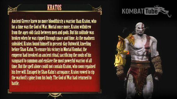 MK9 Bio: KRATOS