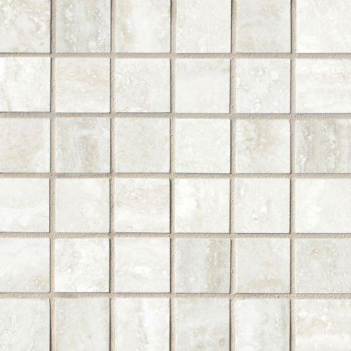 Phoenix 1 9 16 X 1 9 16 Floor Wall Mosaic In Silver Unique Outdoor Spaces Outdoor Tiles Glass Mosaic Tiles